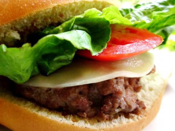 Jalapeno-Blue Cheese Burgers